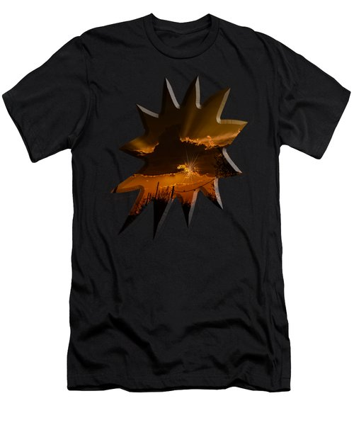 Sunset No.07 Men's T-Shirt (Athletic Fit)