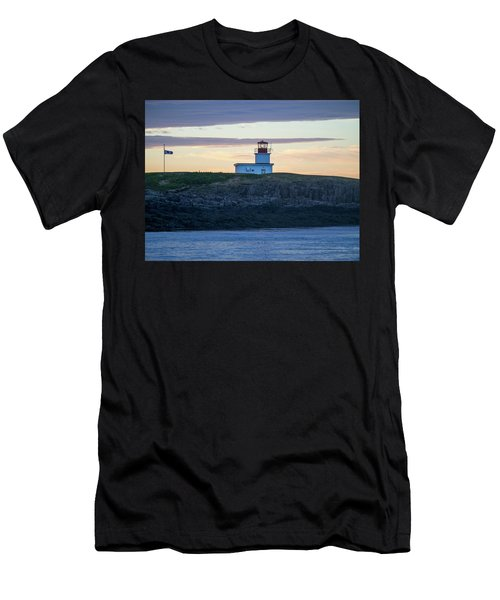 Sunset Nova Scotia  Men's T-Shirt (Athletic Fit)