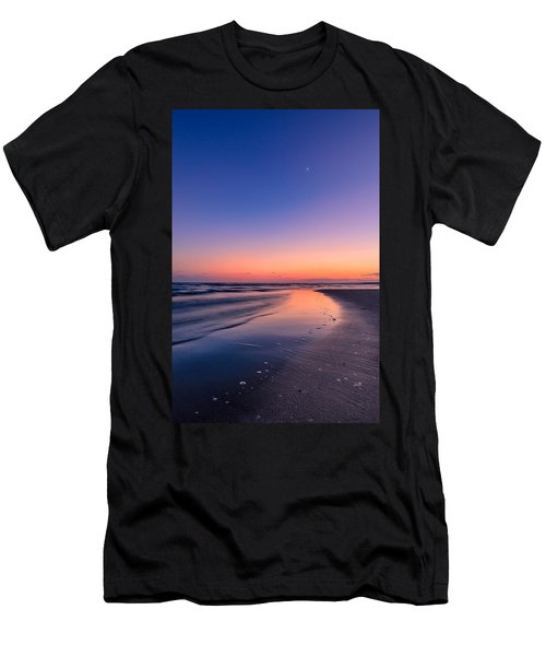 Sunset, Old Saybrook, Ct Men's T-Shirt (Athletic Fit)