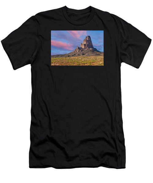 Sunset On Agathla Peak Men's T-Shirt (Athletic Fit)