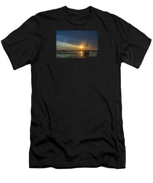 Sunset On Cape Cod Men's T-Shirt (Slim Fit) by Diane Diederich