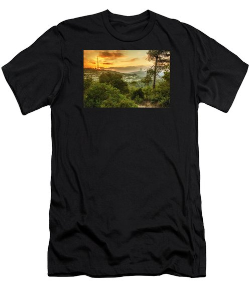 Sunset On Carmel Mountain Men's T-Shirt (Athletic Fit)