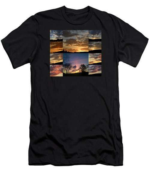 Sunset On Hunton Lane Men's T-Shirt (Athletic Fit)
