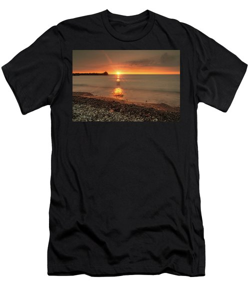 Sunset On Huron Lake Men's T-Shirt (Athletic Fit)