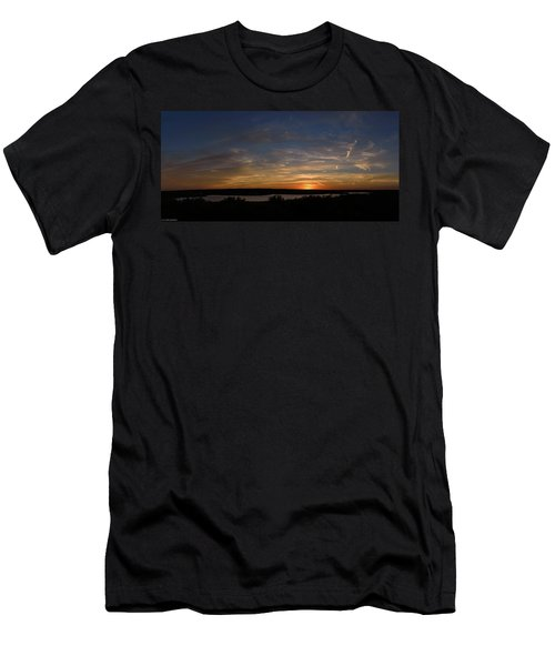 Sunset On Lake Georgetown Men's T-Shirt (Athletic Fit)