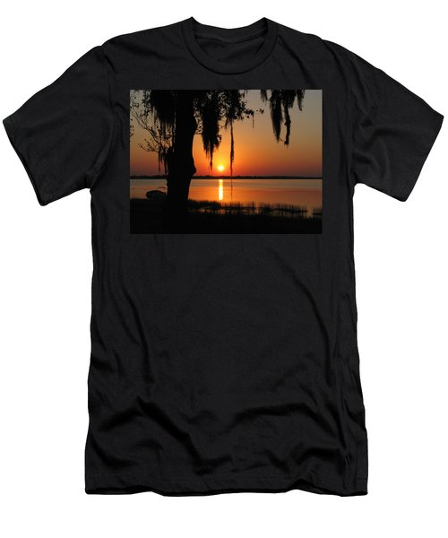 Sunset On Lake Minneola Men's T-Shirt (Athletic Fit)