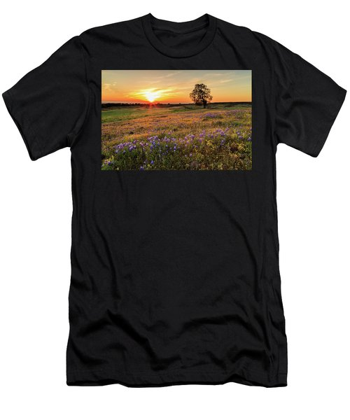 Sunset On North Table Mountain Men's T-Shirt (Athletic Fit)