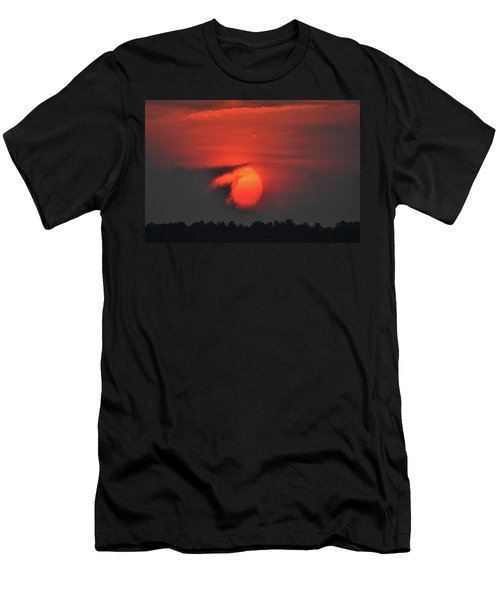 Sunset On Plum Island Men's T-Shirt (Athletic Fit)