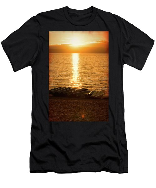 Sunset On Quinault Men's T-Shirt (Athletic Fit)