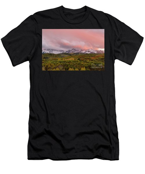 Sunset On The Dallas Divide Ridgway Colorado Men's T-Shirt (Athletic Fit)