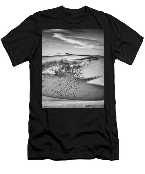 Sunset On The Dunes Men's T-Shirt (Athletic Fit)