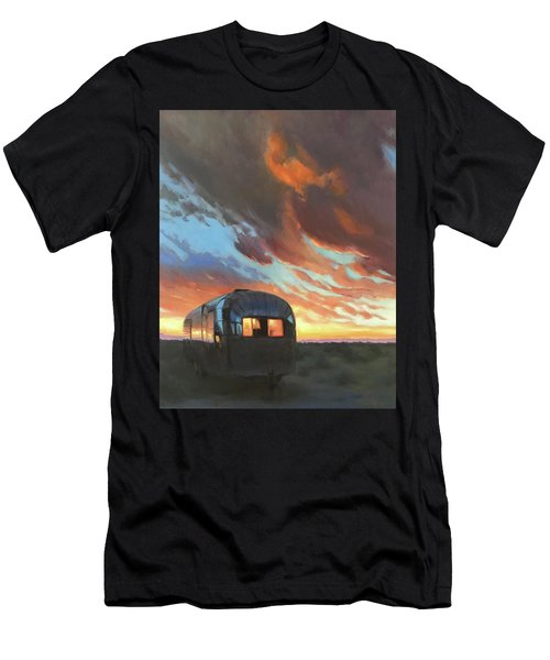 Sunset On The Mesa Men's T-Shirt (Athletic Fit)