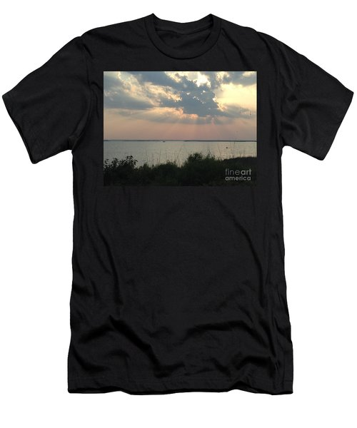 Sunset On The Outer Banks Men's T-Shirt (Athletic Fit)