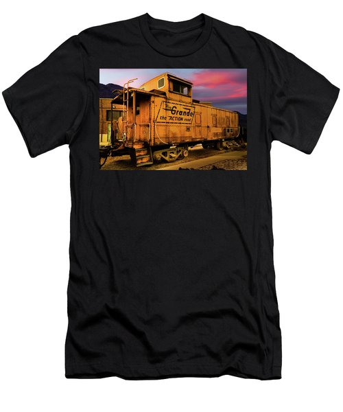 Sunset On The Rio Grande Men's T-Shirt (Athletic Fit)