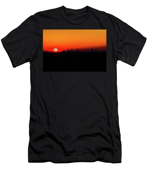 Sunset Over Atlanta Men's T-Shirt (Athletic Fit)