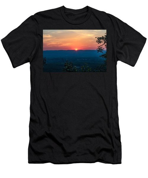 Sunset Over Easthampton Men's T-Shirt (Athletic Fit)
