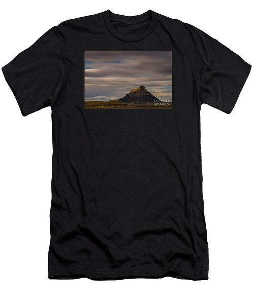 Sunset Over Factory Butte Men's T-Shirt (Athletic Fit)