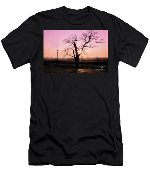 Men's T-Shirt (Slim Fit) featuring the photograph Sunset Over Krakow by Juli Scalzi