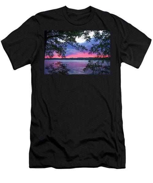 Sunset Over Lake Cherokee Men's T-Shirt (Athletic Fit)