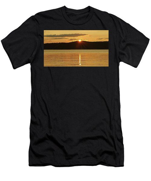 Sunset Over Piermont Men's T-Shirt (Athletic Fit)