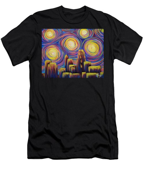 Sunset Over Raleigh Men's T-Shirt (Athletic Fit)