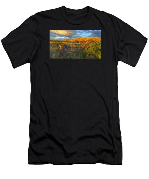 Sunset Over The Campsie Fells Men's T-Shirt (Athletic Fit)