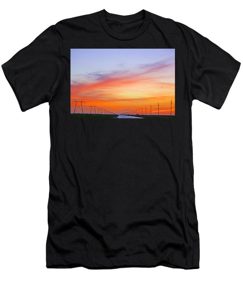 Sunset Over The Glades Men's T-Shirt (Athletic Fit)
