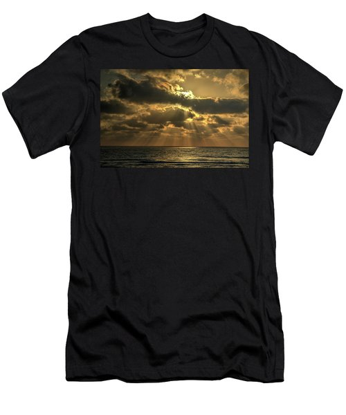 Sunset Over The Mediterranean 5 Men's T-Shirt (Athletic Fit)