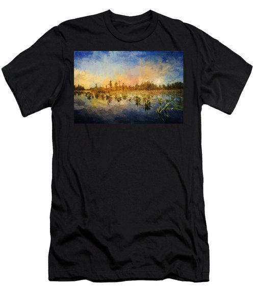 Sunset Over The Okefenokee Men's T-Shirt (Athletic Fit)