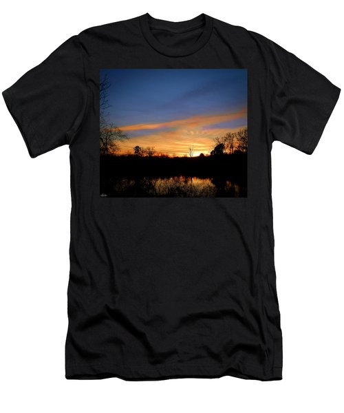 Sunset Over The Sabine 02 Men's T-Shirt (Athletic Fit)