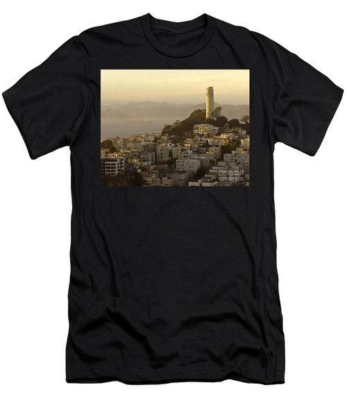 Sunset Over The Water Men's T-Shirt (Athletic Fit)