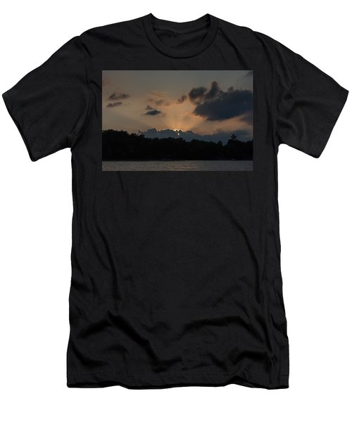 Sunset Over Wilderness Point Men's T-Shirt (Athletic Fit)