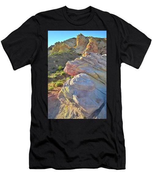 Sunset Pastels In Valley Of Fire Men's T-Shirt (Athletic Fit)
