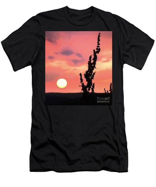 Sunset Men's T-Shirt (Slim Fit) by Raymond Earley
