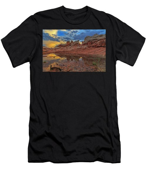 Sunset Reflections Men's T-Shirt (Athletic Fit)