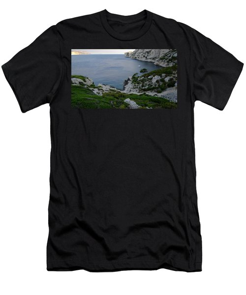 Men's T-Shirt (Athletic Fit) featuring the photograph Sunset Repose by August Timmermans