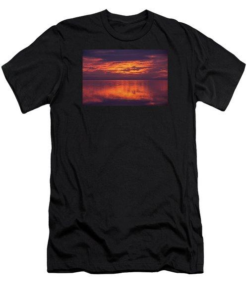 Sunset Sequim Men's T-Shirt (Athletic Fit)