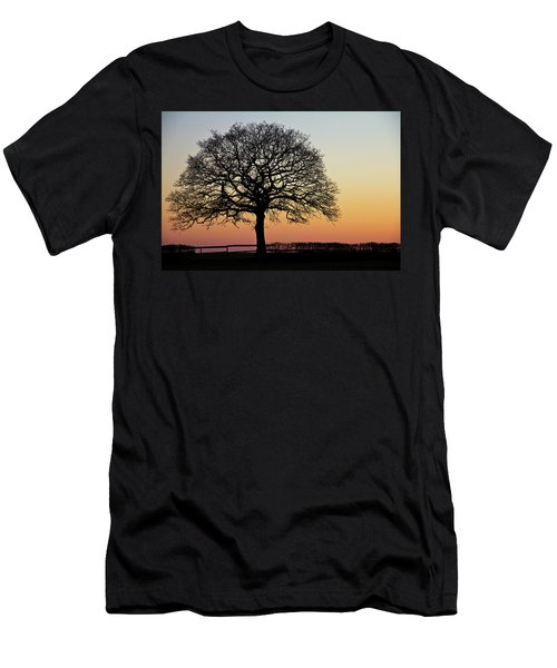 Men's T-Shirt (Athletic Fit) featuring the photograph Sunset Silhouette by Clare Bambers