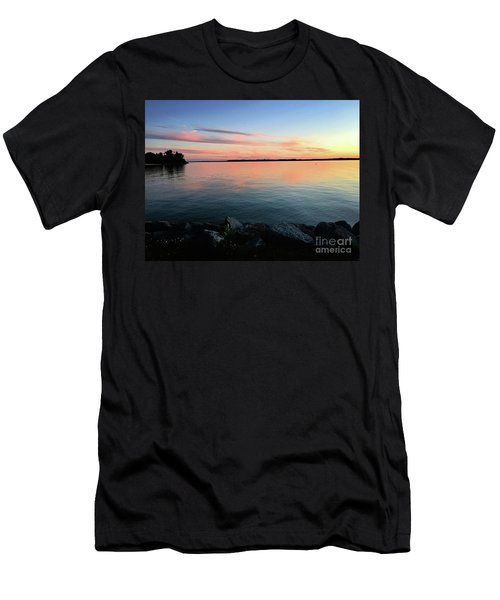 Sunset Sky Men's T-Shirt (Athletic Fit)