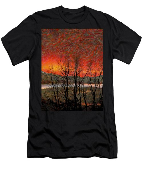 Sunset Soliloquy Men's T-Shirt (Athletic Fit)