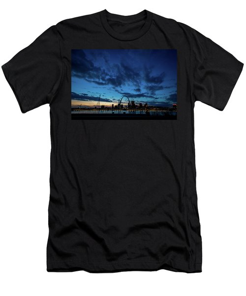 Sunset St. Louis IIi Men's T-Shirt (Athletic Fit)