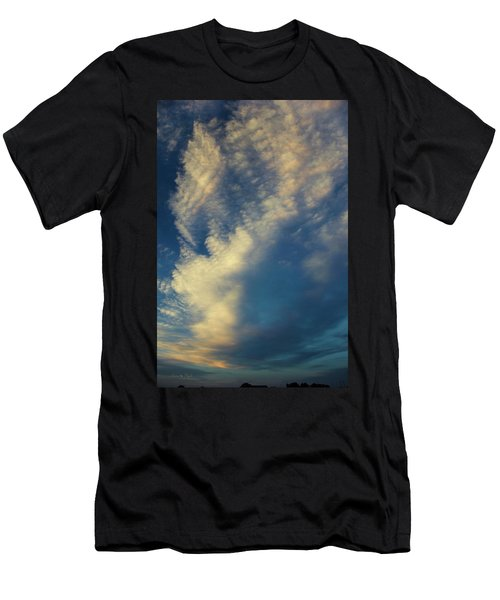 Sunset Stack Men's T-Shirt (Athletic Fit)
