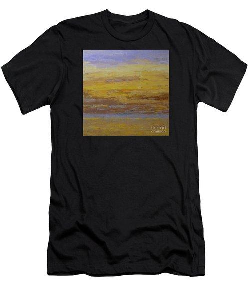 Sunset Storm Clouds Men's T-Shirt (Athletic Fit)