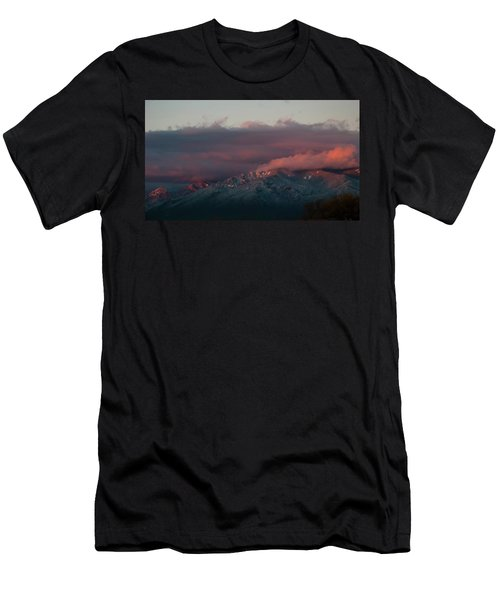 Sunset Storm On The Sangre De Cristos Men's T-Shirt (Athletic Fit)