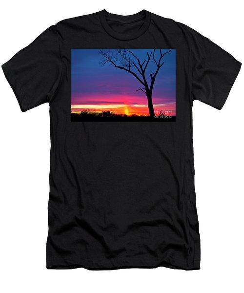 Sunset Sundog  Men's T-Shirt (Athletic Fit)