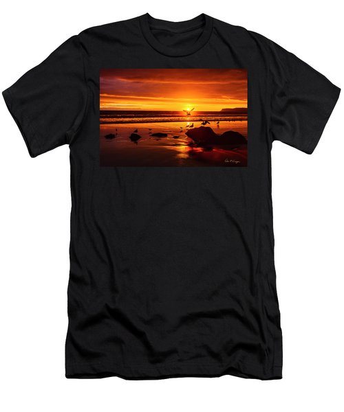 Sunset Surprise Men's T-Shirt (Athletic Fit)