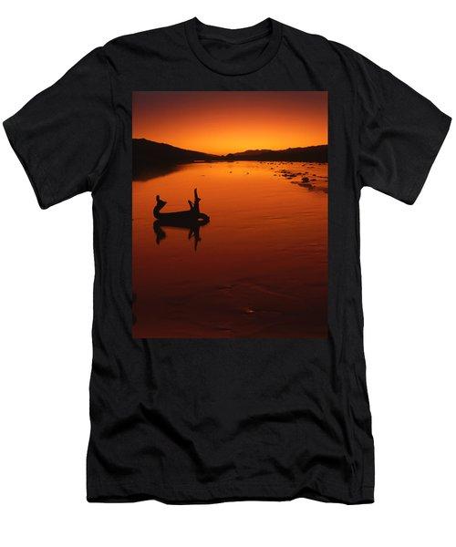 Sunset, The Wairau Valley Marlborough New Zealand Men's T-Shirt (Athletic Fit)