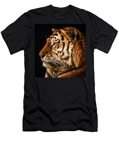 Sunset Tiger Men's T-Shirt (Athletic Fit)