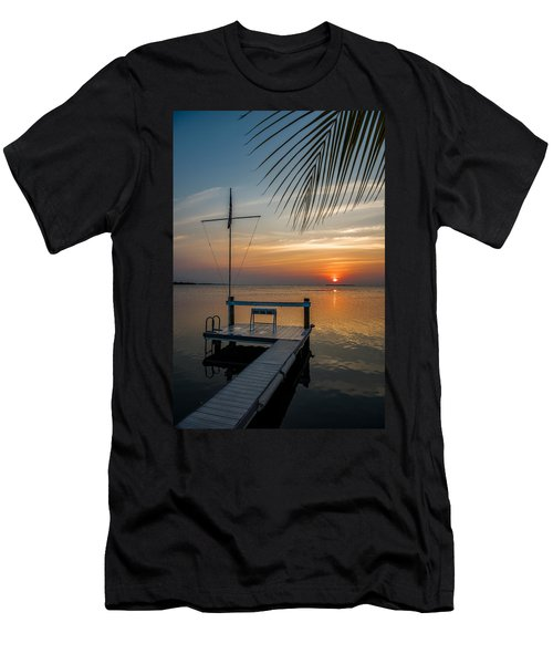 Sunset Villa Men's T-Shirt (Athletic Fit)