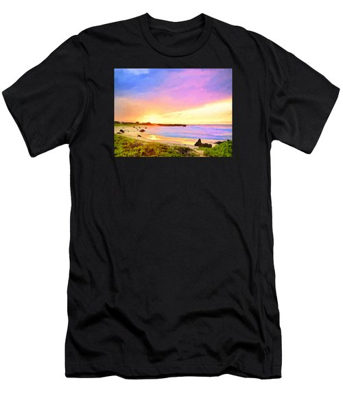 Sunset Walk Men's T-Shirt (Athletic Fit)